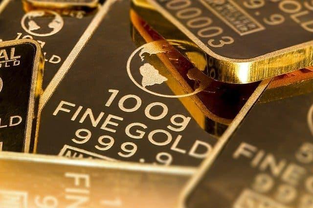 złoto surowce